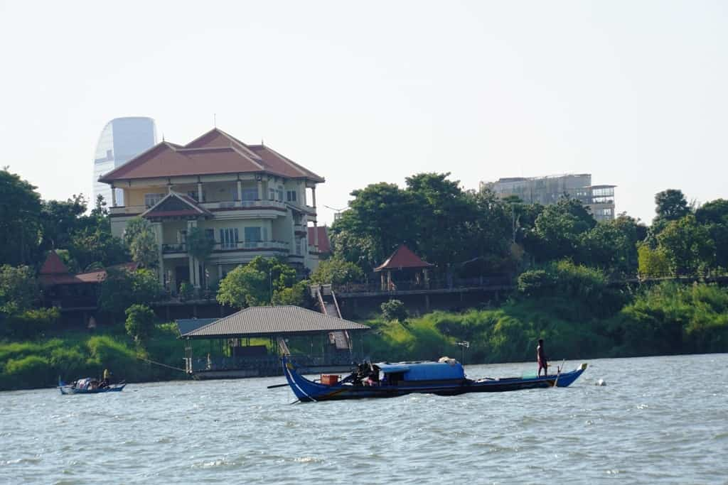 cruise the Mekong in Phnom Penh