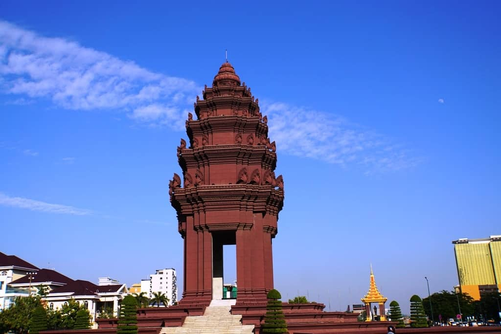 Independence Monument - Phnom Penh itinerary