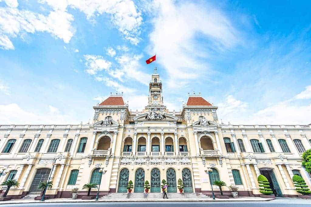 Ho Chi Minh City Hall - 2 days in Ho Chi Minh
