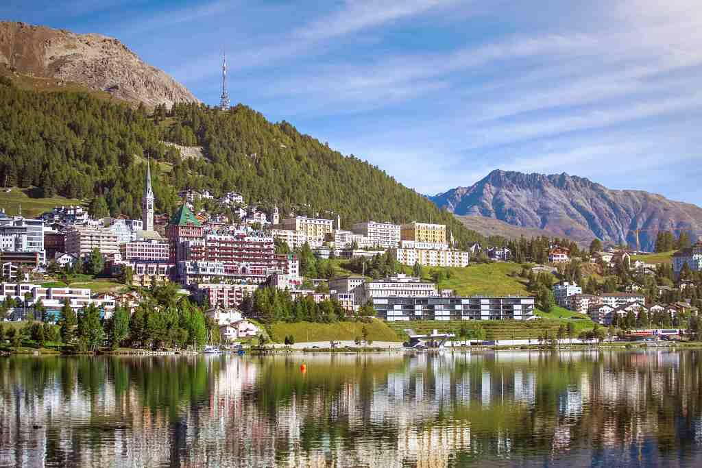 St moritz - Italy Switzerland itinerary