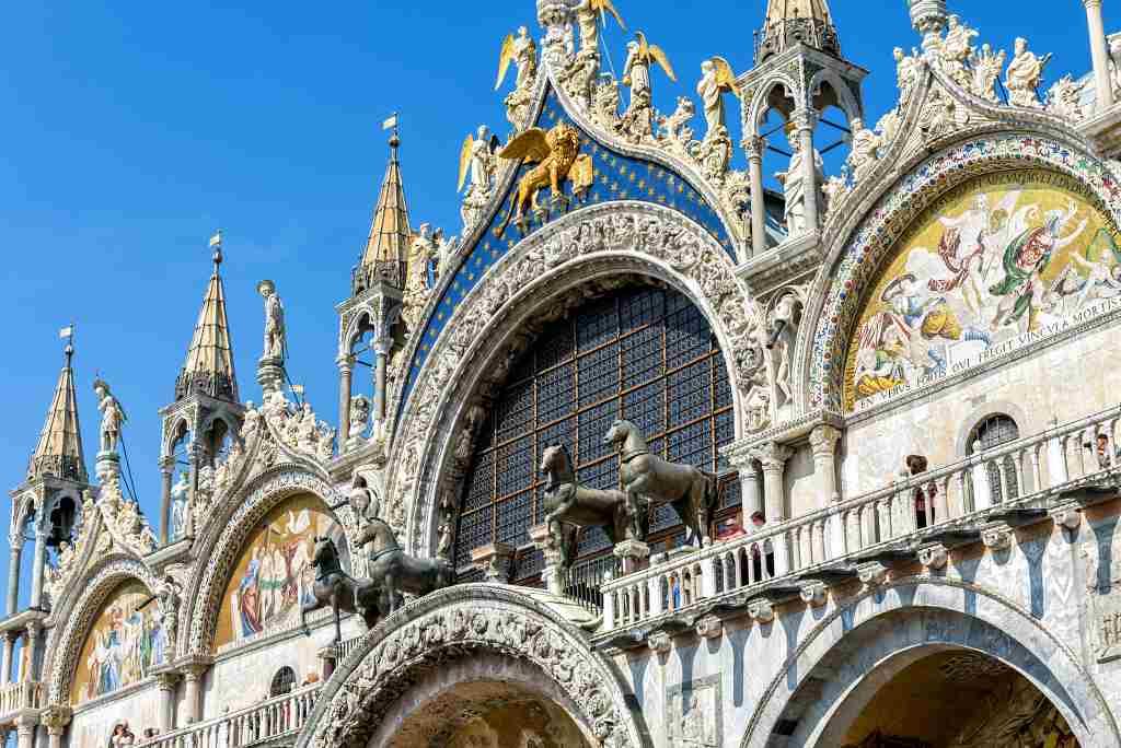 san marco basilica venice - Northern italy itinerary