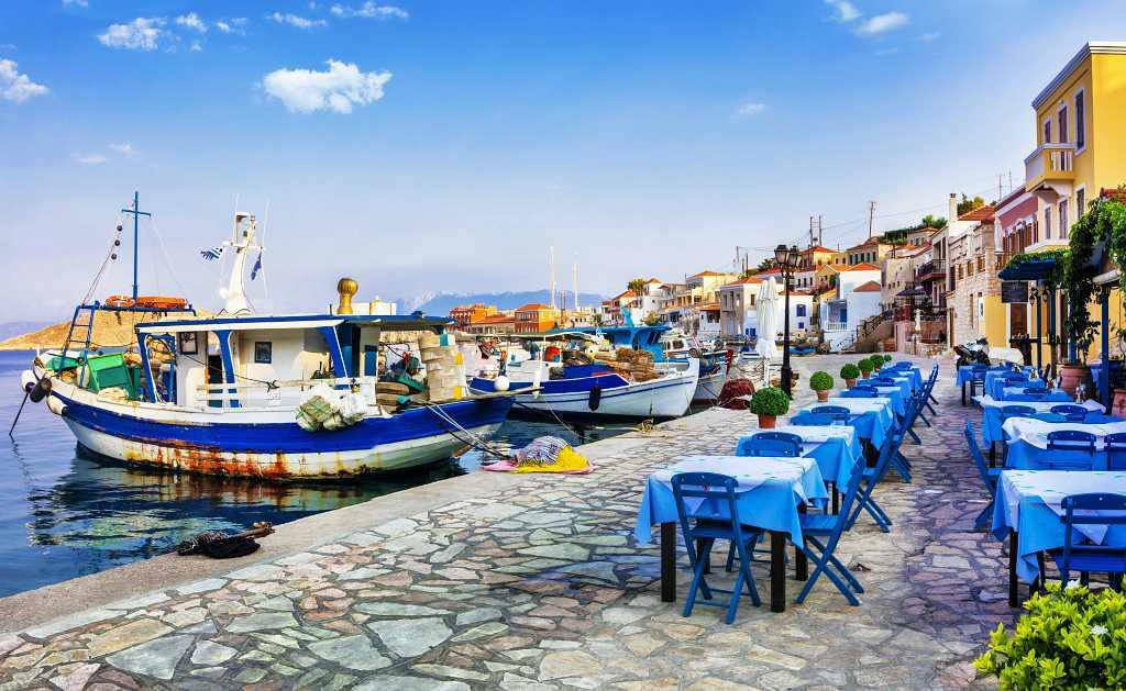 Chalki - greek island
