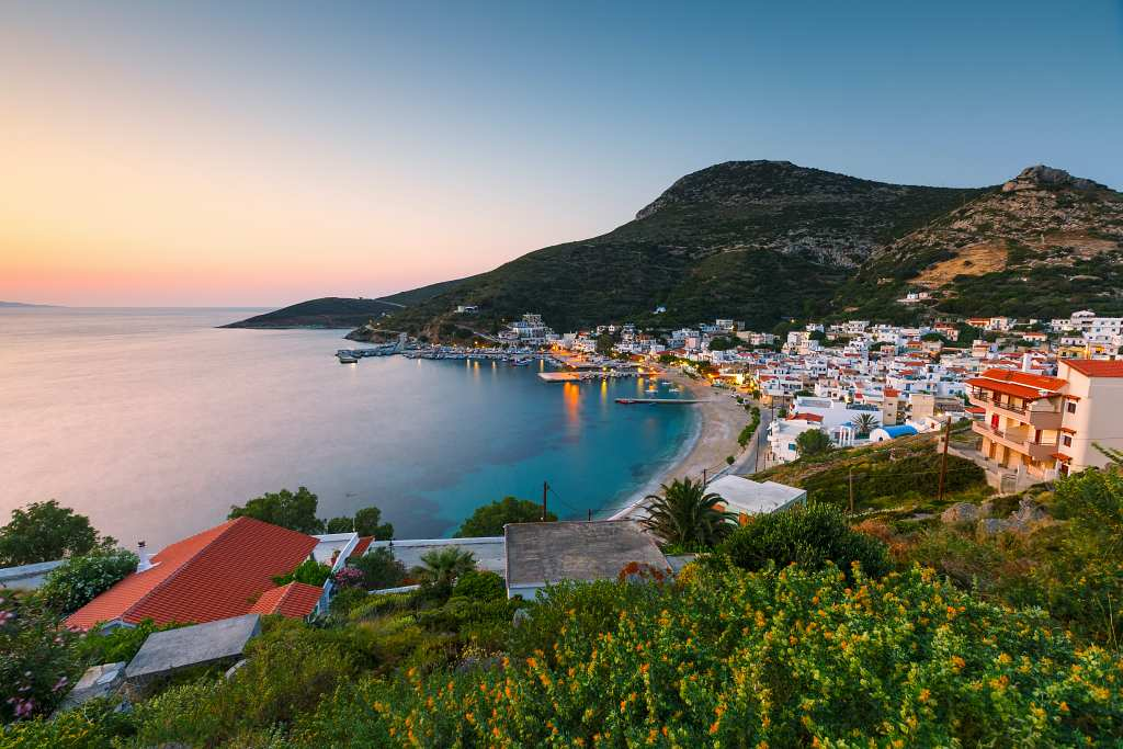 Fourni island Greece