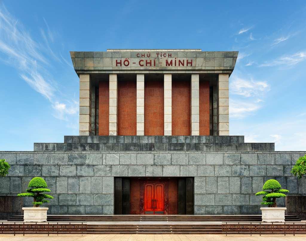 Ho Chi Minh Mausoleum - 4 days in Hanoi Vietnam