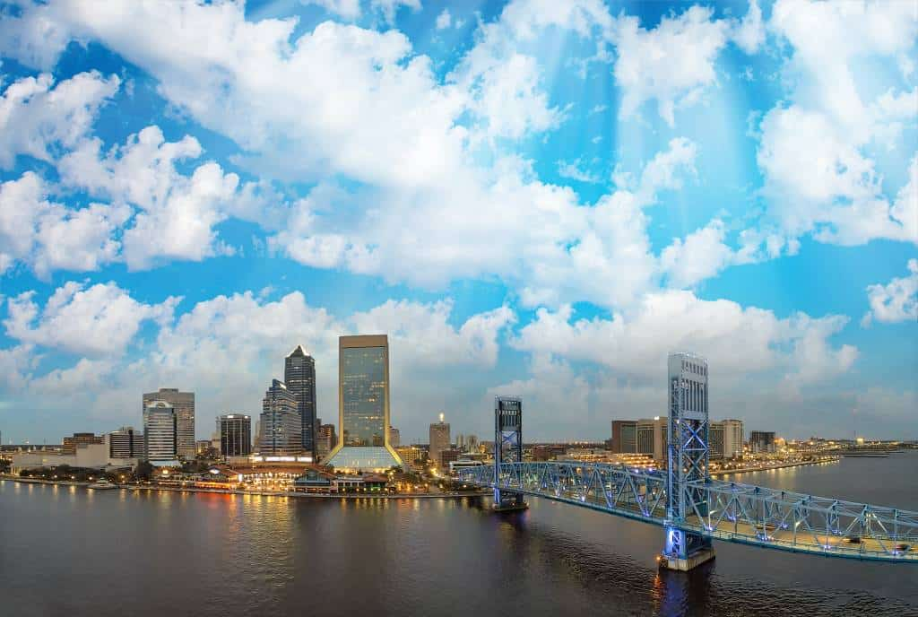 Jacksonville - best places to visit in the us for warm winter in February