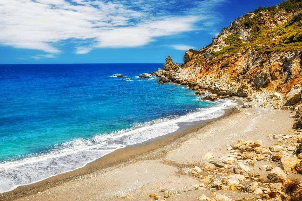 Kastro beach, Skiathos - best greek islands for beaches