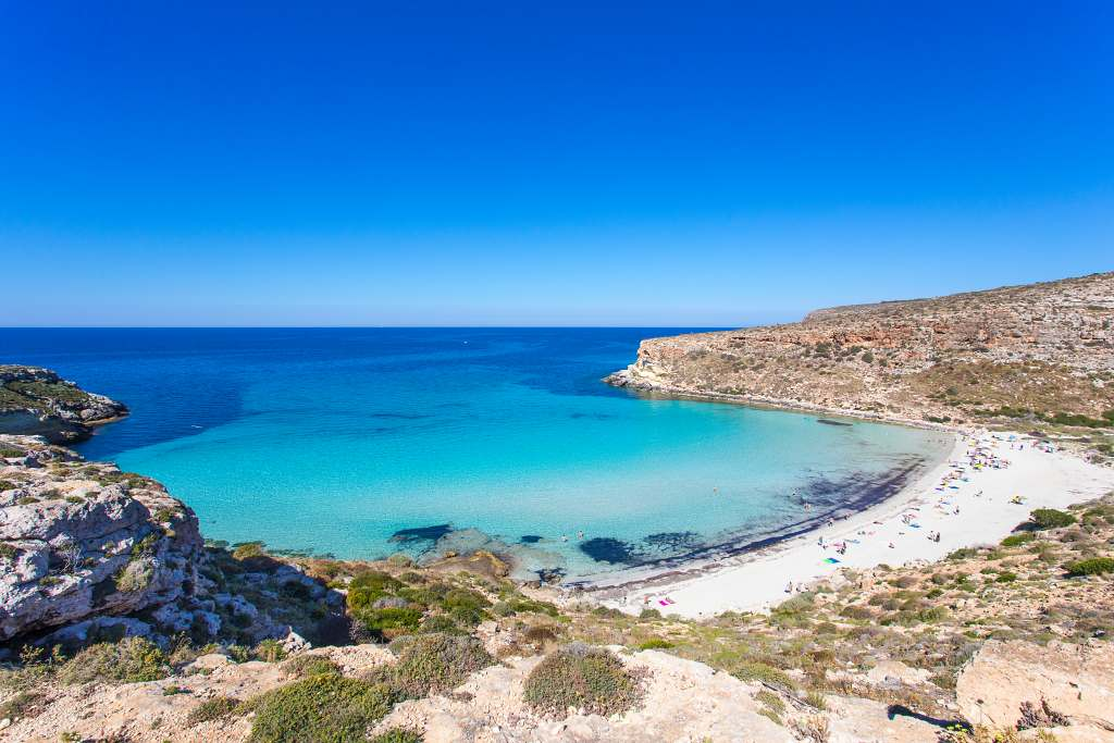 Lampedusa Island Sicily - where to go in Italy in September