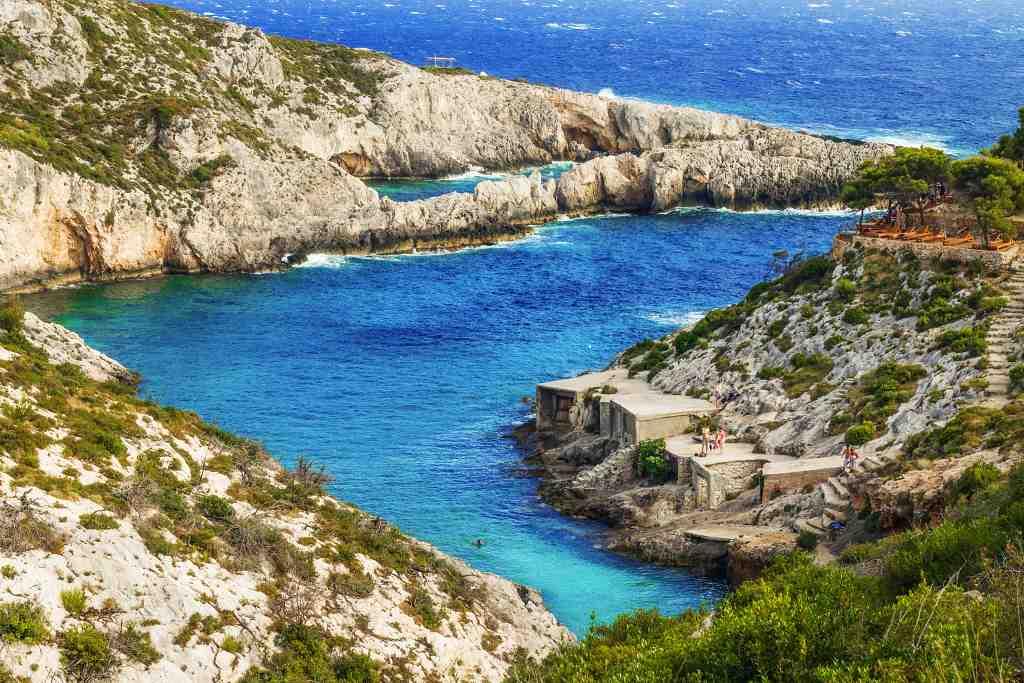 Best Greek islands for beaches - Zante