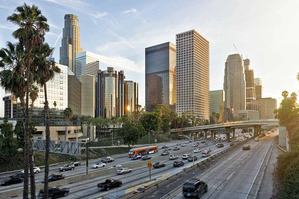 Los Angeles - where to go in Us in warm winter February