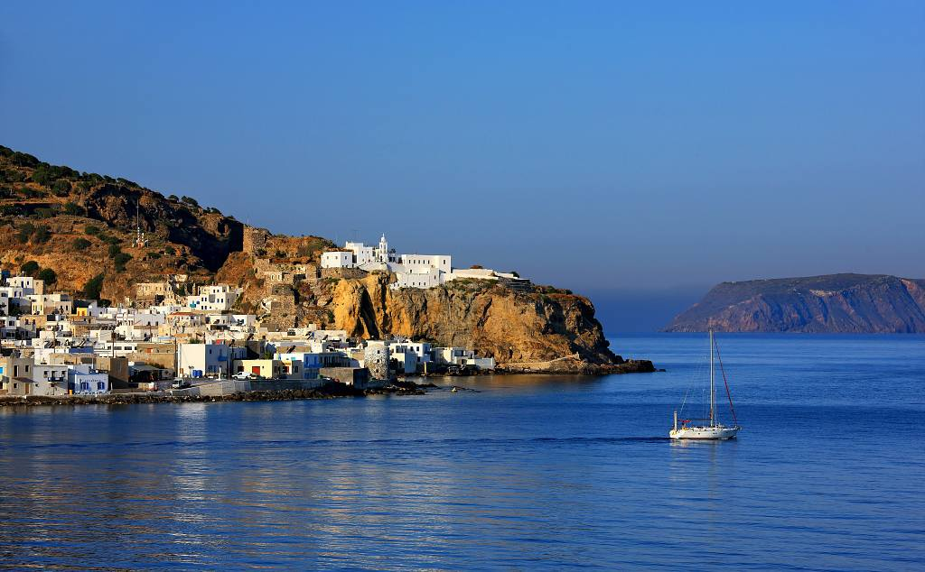 Nisyros - one of the quieter Greek islands