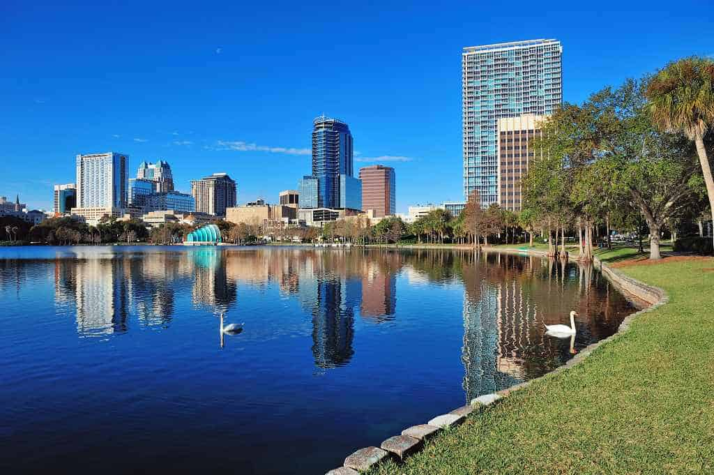 Orlando Florinda - best place to visit in us in warm winter february