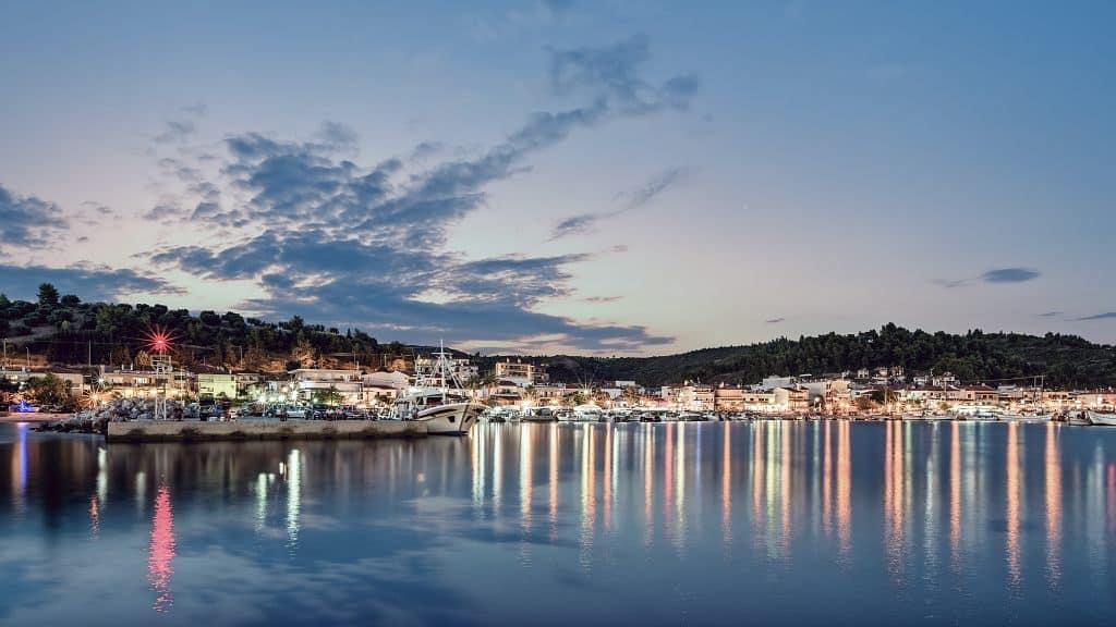 Halkidiki is a famous party destination