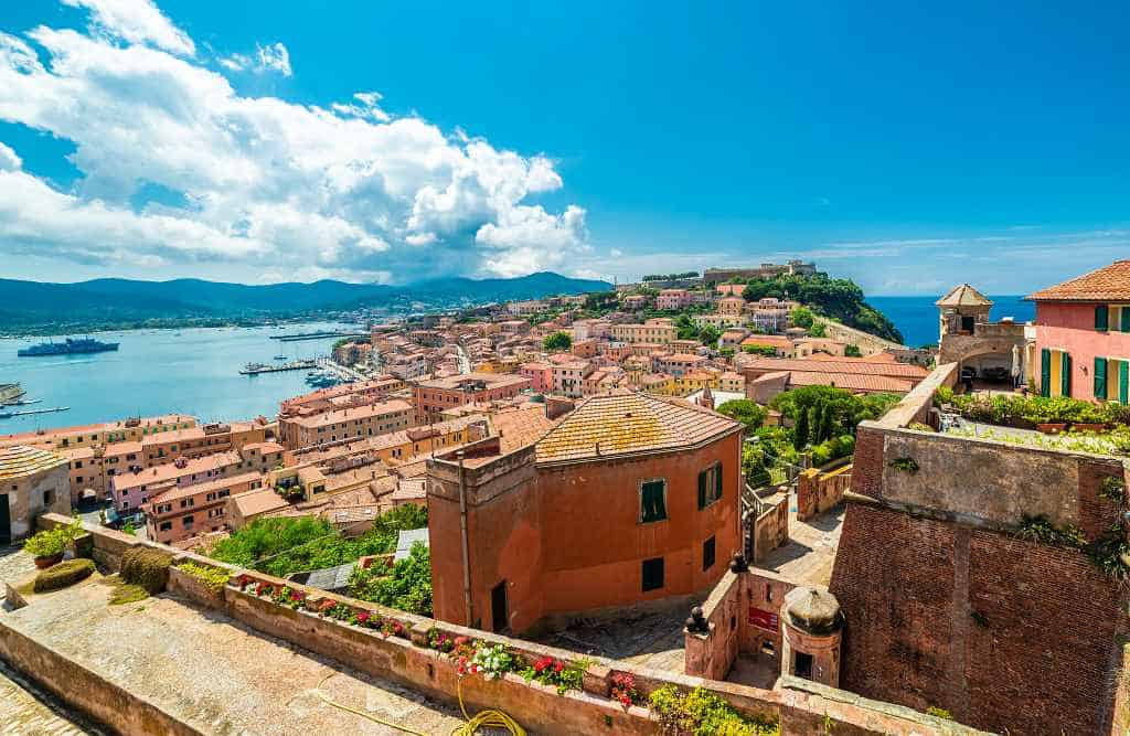 Elba island - where to go in Italy in September