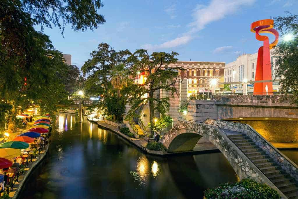 San Antonio Texas - warm destinations in the us in February
