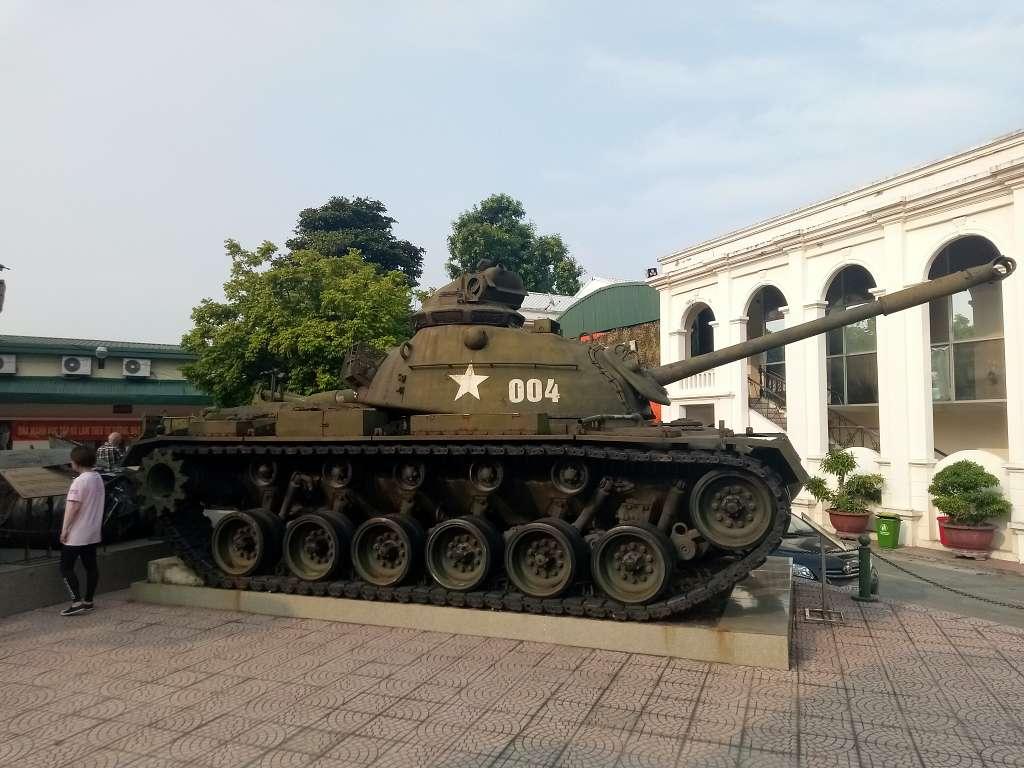 Vietnam War Museum - 4 day in Hanoi itinerary