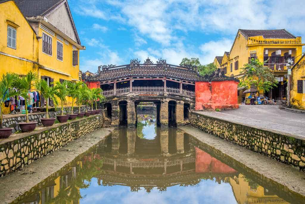 Japanese Bridge - Hoi An itinerary