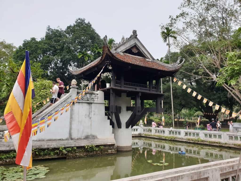 One Pillar Pagoda - Hanoi itinerrary