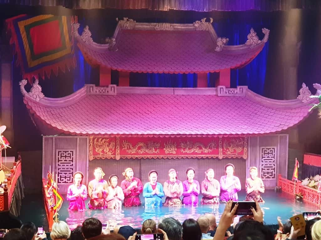 Thang Long Water Puppet Theatre - Hanoi