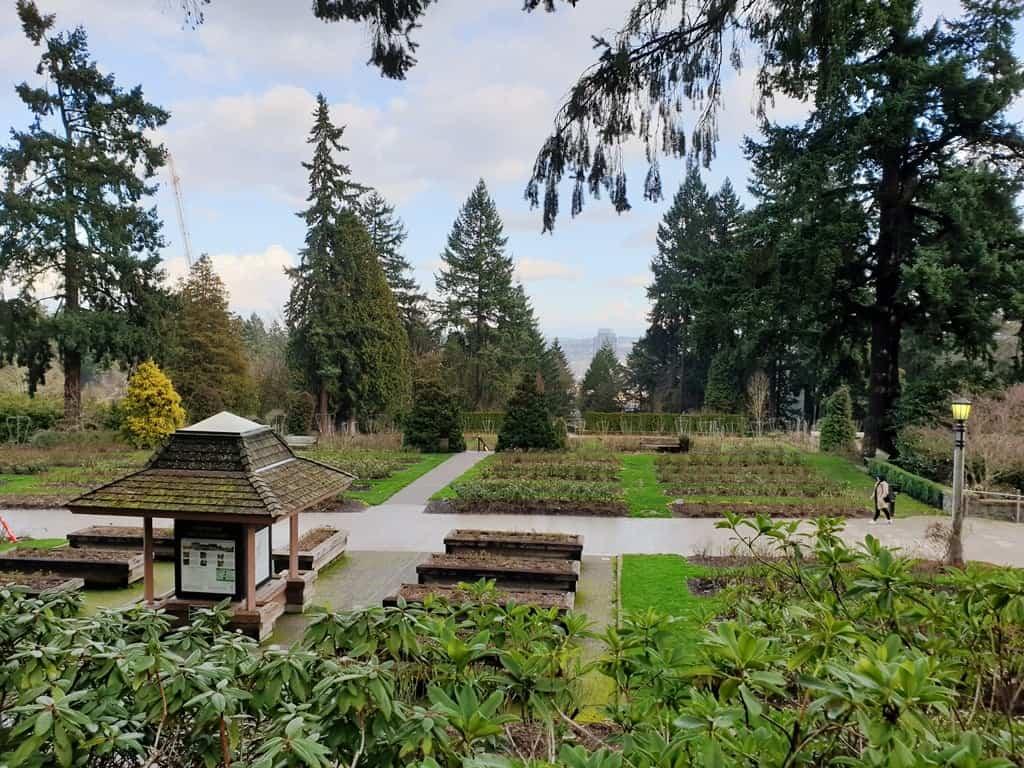 Rose Garden - Portland itinerary