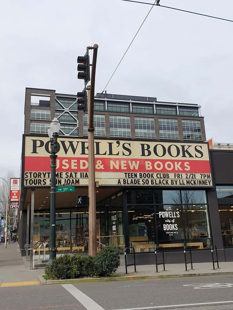 Powell's City of Books - 2 days in Portland