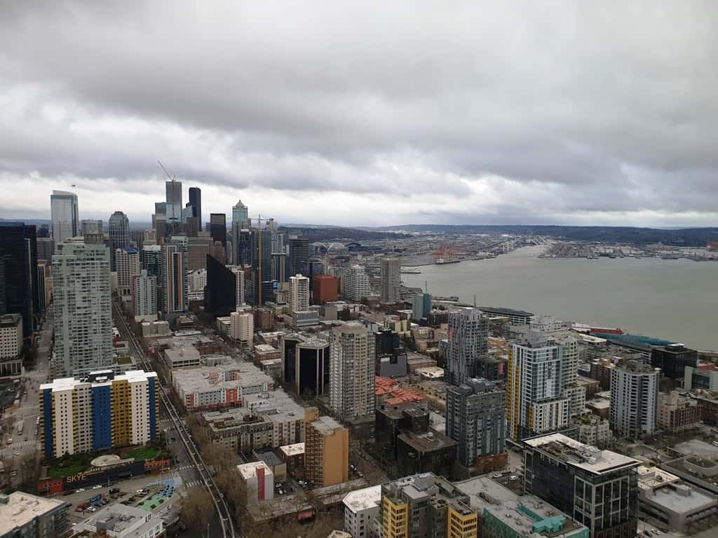 Space Needle - 3 days in Seattle