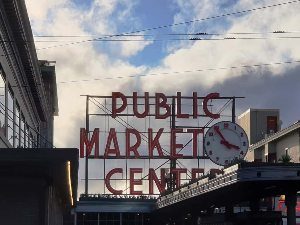 Pike Place Market- 3 day Seatlle itinerary
