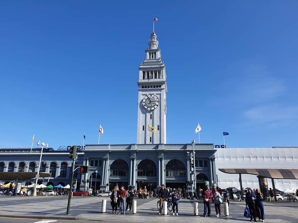 Ferry Building - 4 day San Francisco itinerary