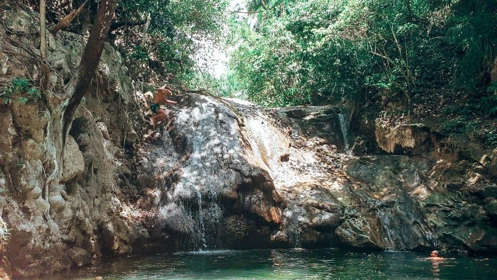 Secret falls in Bohol