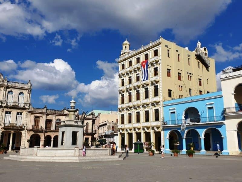 Plaza Vieja - 3 days in Havana