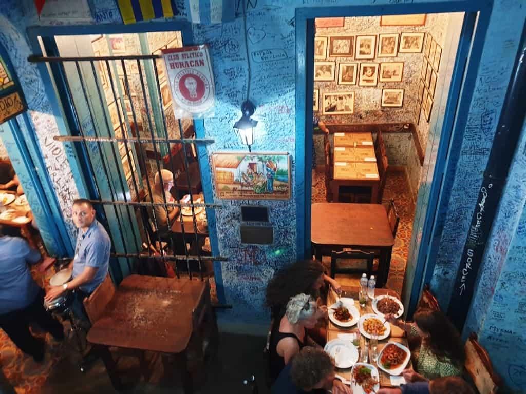 Eat at La Bodeguita del Medio restaurant
