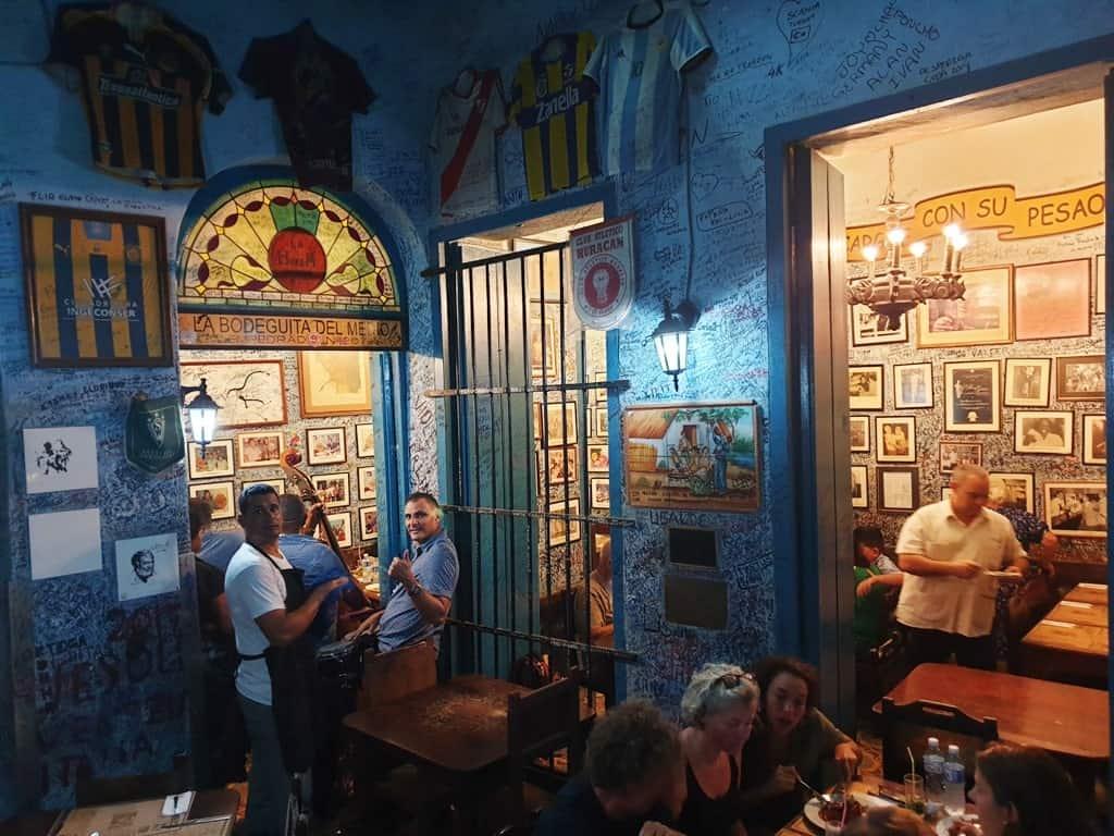 Eat at La Bodeguita del Medio restaurant Havana