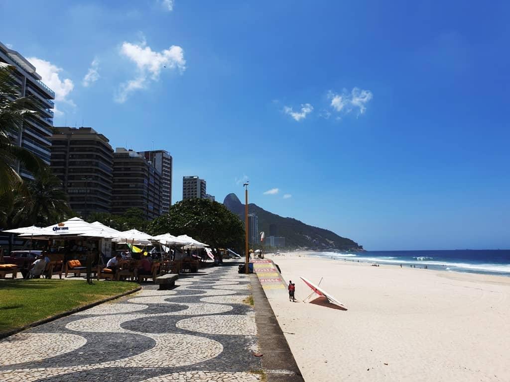 Sao Conrado Beach - 3 days in Rio Brazil