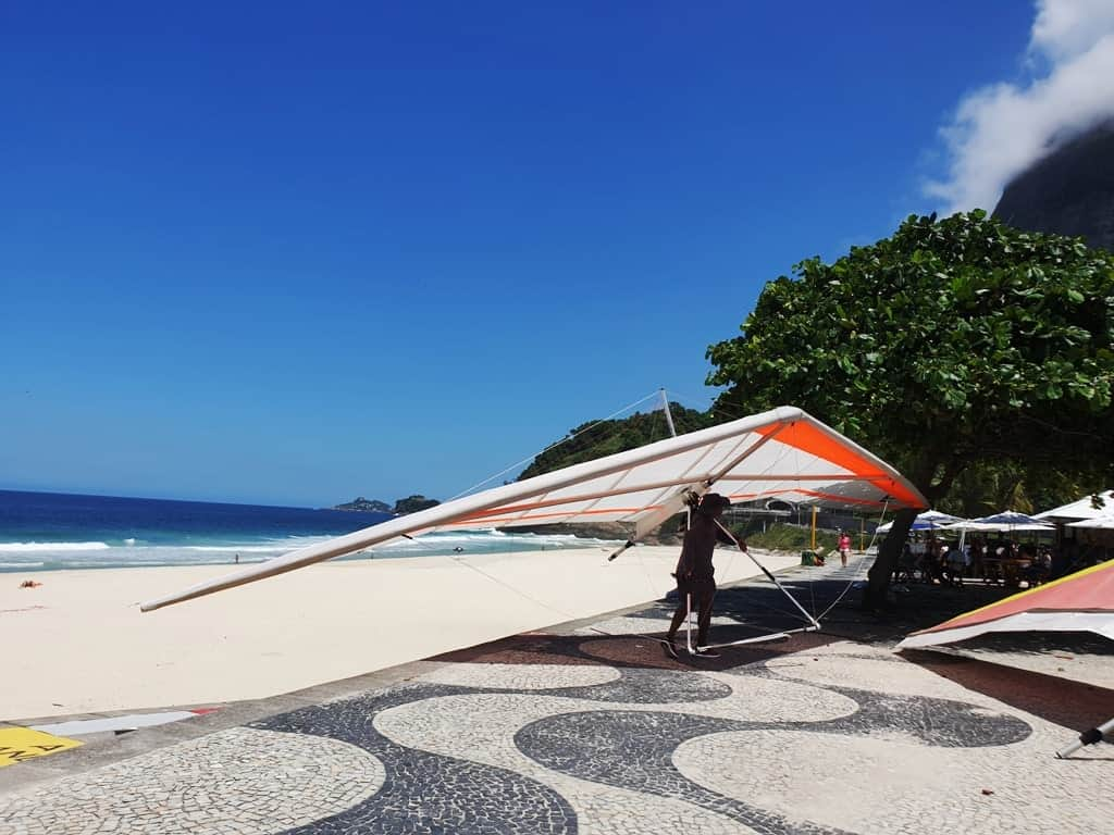 Sao Conrado Beach Rio de Janeiro