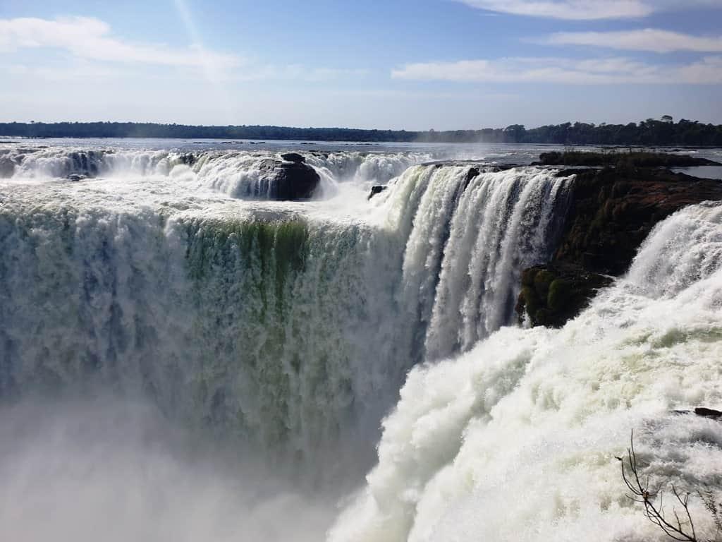 Devil;s throat Iguazu Falls Argentina