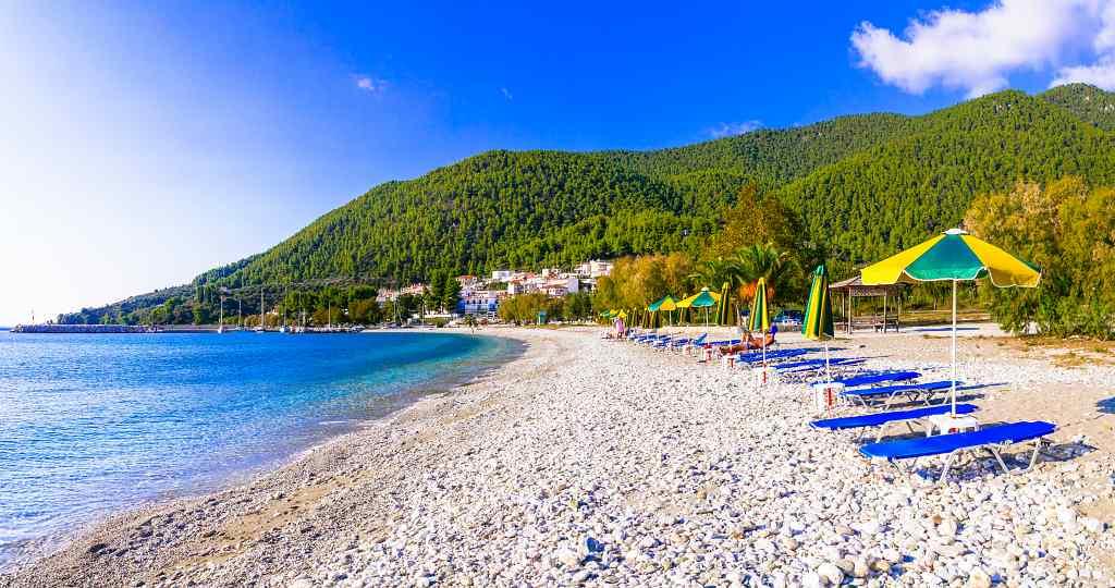 Elios aka Neo Klima Beach - best Skopelos beaches