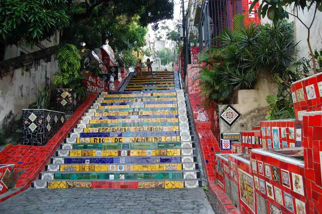 Escadaria Selarón- 3 days in Rio