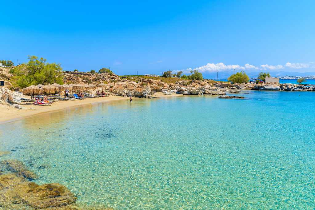 Kolymbithres Beach - Best beaches in Paros