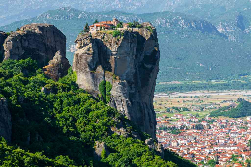 Meteora - movies set in Greece