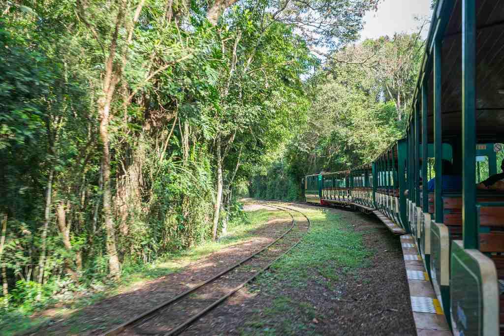 Iguazu National Park Argentina train