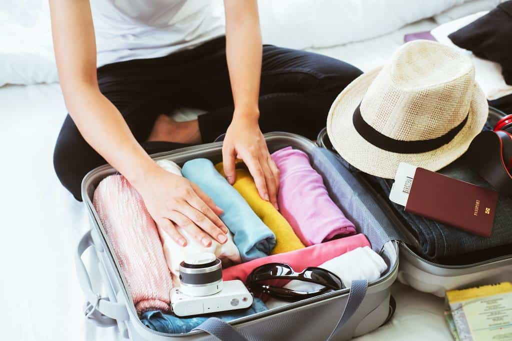 Packing list in Europe in spring