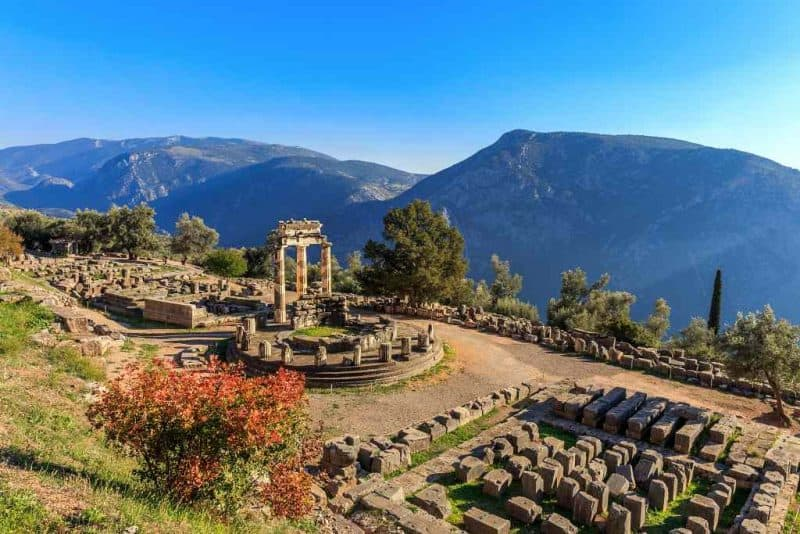 Delphi - Greece itinerary