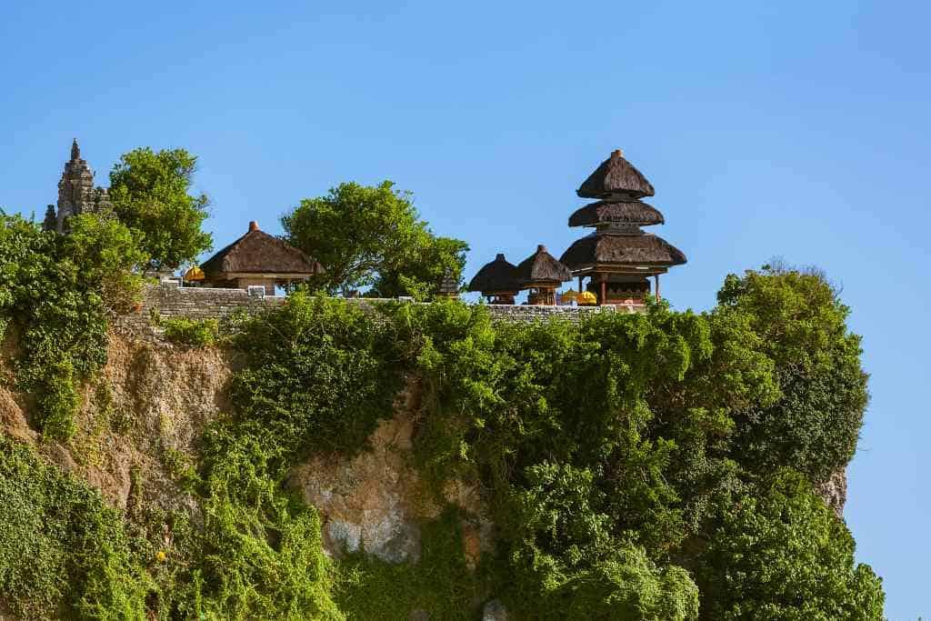 Uluwatu temple in Bali
