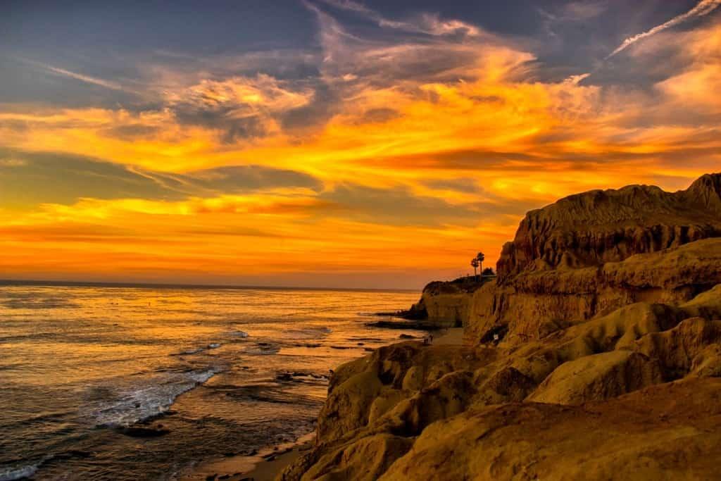 Sunset Cliffs - three days in San Diego