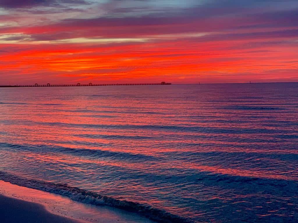Coastal Mississippi sunrise
