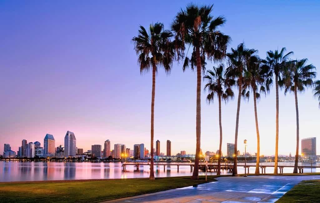sunrise on Coronado Island. San Diego 3 day itinerary