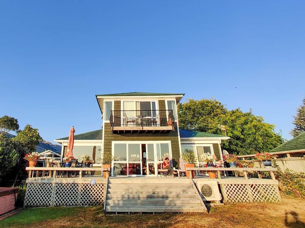Shula's Lakeside house, Rotorua
