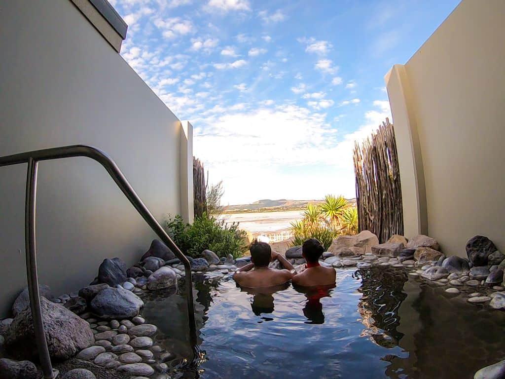 Polynesian Spa at Rotorua New Zealnd North Island itinerary
