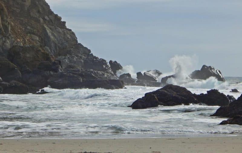 Pfeiffer Beach - best beaches in California