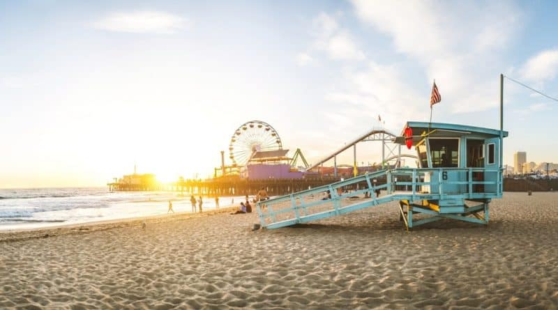 Santa Monica Beach - Best Beach Destinations in the US