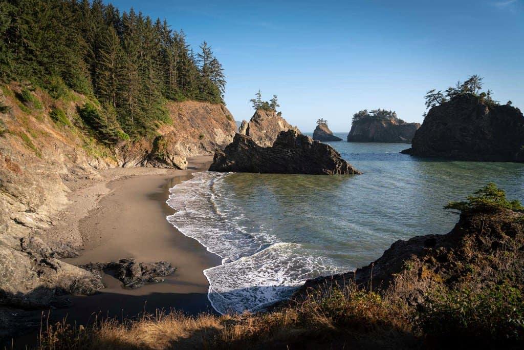 Secret Beach Brookings Oregon
